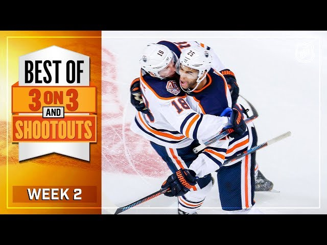 Best 3-on-3 OT and Shootout Moments from Week 2