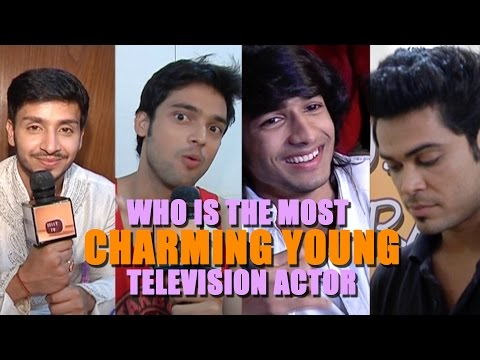 Who is the MOST CHARMING YOUNG TELEVISION ACTOR?