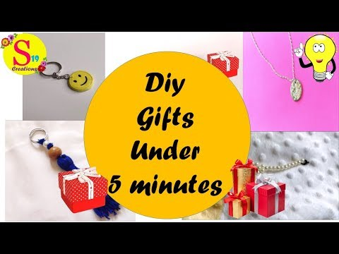 5 Easy diy gifts   Handmade gifts   Creative gift ideas in just 5 minutes   5 - minute crafts