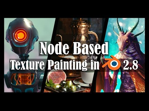 Node Based Texture Painting In Blender 2 8