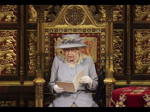 Queen outlines U.K. government's priorities in Parliament speech