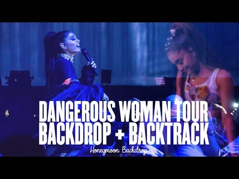 Ariana Grande - Dangerous Woman Tour [Backtrack + Backdrop] Full Show