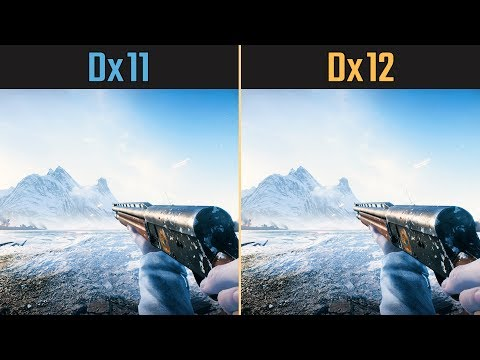 Battlefield V Dx12 vs. Dx11 (Competitive Graphics Settings)