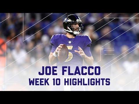 Joe Flacco Tosses 3 TD Passes | Browns vs. Ravens | NFL Week 10 Player Highlights