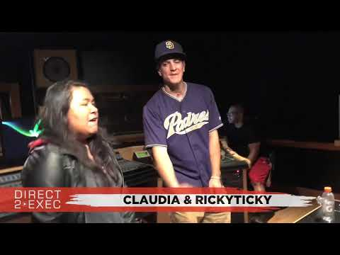 Claudia & RickyTicky Performs at Direct 2 Exec Los Angeles 9/12/17 - Atlantic Records