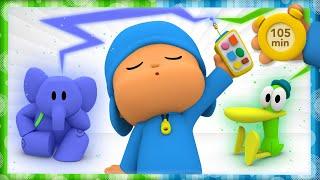 ❤POCOYO & NINA  Favorite adventures of fans [105 min] ANIMATED CARTOON for Children |FULL episodes