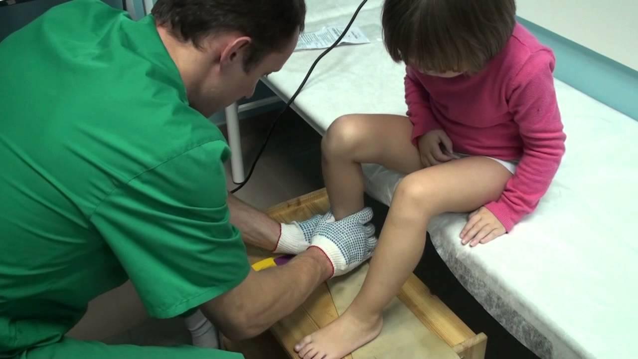 Индивидуальные детские ортопедические стельки