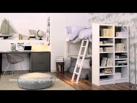 Muebles juveniles en madera maciza dormitorios juveniles - Muebles de entrada vintage ...