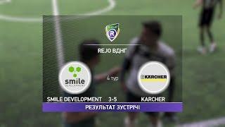 Обзор матча Smile Development Karcher R CUP Турнир по мини футболу в Киеве