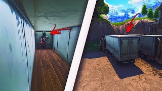 *NEW* GET INSIDE OF ANY TRUCK USING THIS EASY GLITCH - FORTNITE WALLBREACH GLITCHES 2018