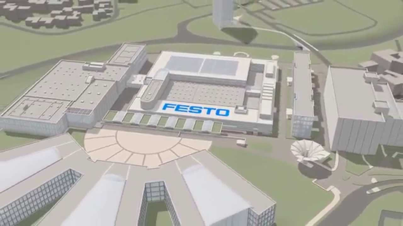 2015 Festo Headquarters Standby Loop Of Wayfinding System