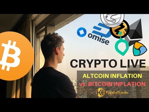 CRYPTO LIVE - INFLATION!!! WARNUNG!!! Bitcoin vs Altcoins ma