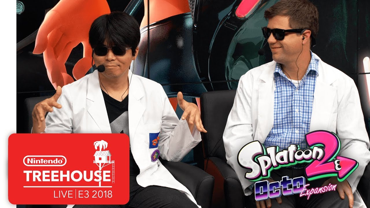 Splatoon 2: Octo Expansion Gameplay Pt. 2 - Nintendo Treehouse: Live | E3 2018