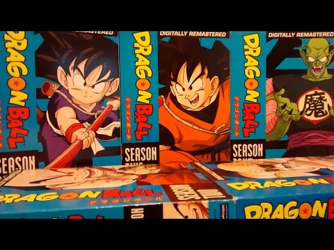Dragon Ball The Complete Series Unboxing New Review Plus DB Movie 4 Pack