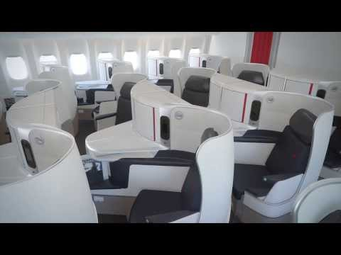 Air France - Nouvelle cabine Business / New Business cabin