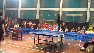 Choong Wen  Table Tennis Open, 2013, August 18th Final, Kuala Lumpur Union Kid