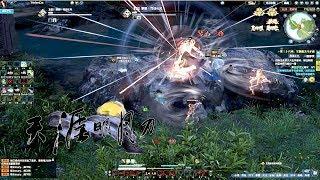 Moonlight Blade Online 天涯明月刀.ol - 101 Level Boss Job Fight Gameplay