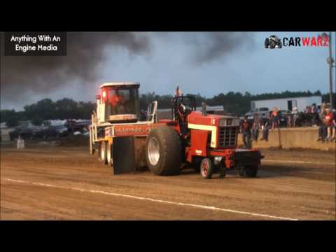MTTP Truck Pulls At Hastings MI - Light Limited Super Stock Tractor Class July 2016