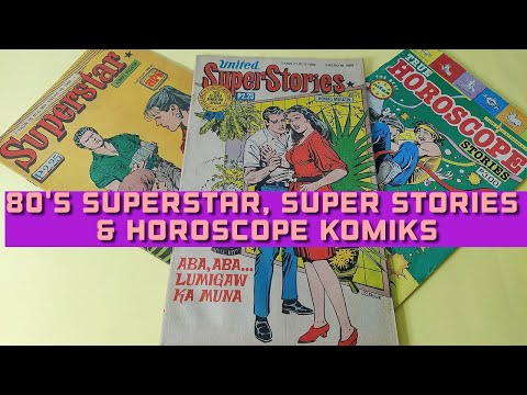 80's Superstar, United Super Stories & Horoscope Komiks || Vintage Pinoy Komiks