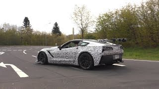 THIS IS THE SOUND OF THE NEW MY2019 CORVETTE STINGRAY ZR1!