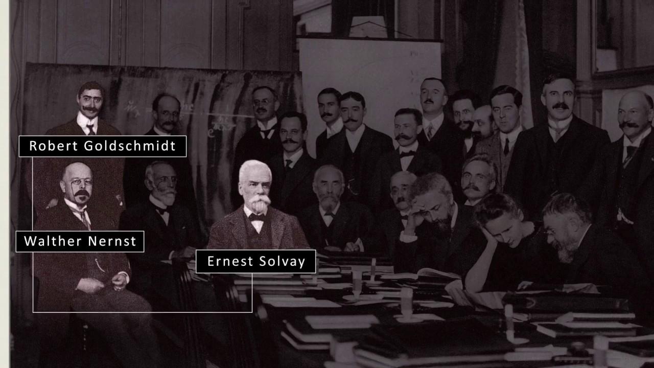 le conseil de physique bruxelles 1911