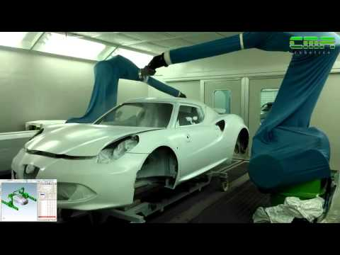 CMA Robotics Spa - Automotive painting