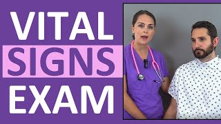 Vital Signs Nursing: Respiratory Rate, Pulse, Blood Pressure, Temperature, Pain, Oxygen