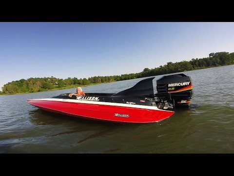 120+mph XR2001 Allison Craft - Crazy Fast - 315ss Drag 400hp - EastTNFishing And GoPro