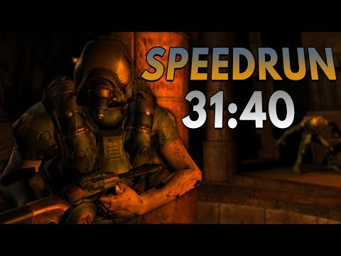 Doom 3 BFG: Resurrection of Evil Speedrun in 31:40
