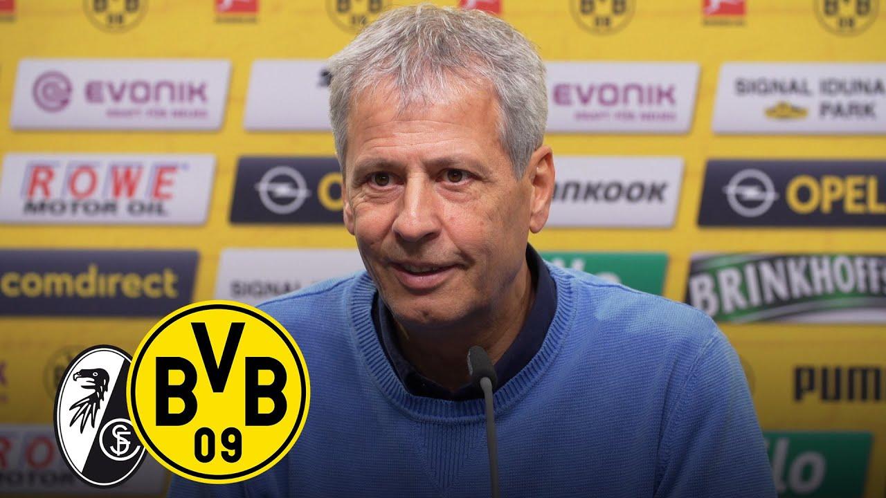 Pressekonferenz mit Lucien Favre & Michael Zorc | SC Freiburg - BVB