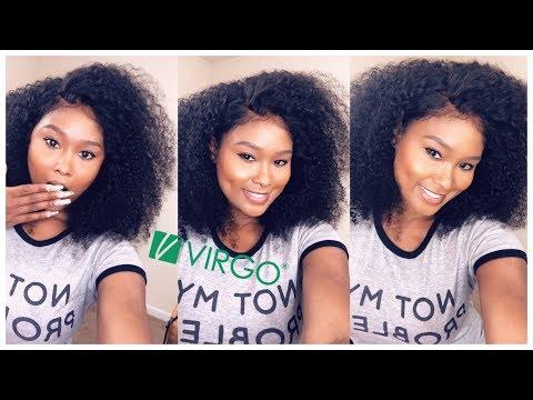 Best ali express kinky curly wig virgo hair