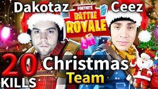 CHRISTMAS TEAM CDNThe3rd & Dakotaz Best Game #62 (Fortnite Battle Royale)