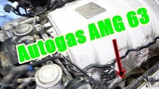 Eingasung beim M156 (AMG63) und der neue 500PS Prins Verdampfer