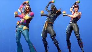 *NEW* SHAKE IT UP EMOTE ON LEAKED SKINS! (Showcase) Fortnite Battle Royale