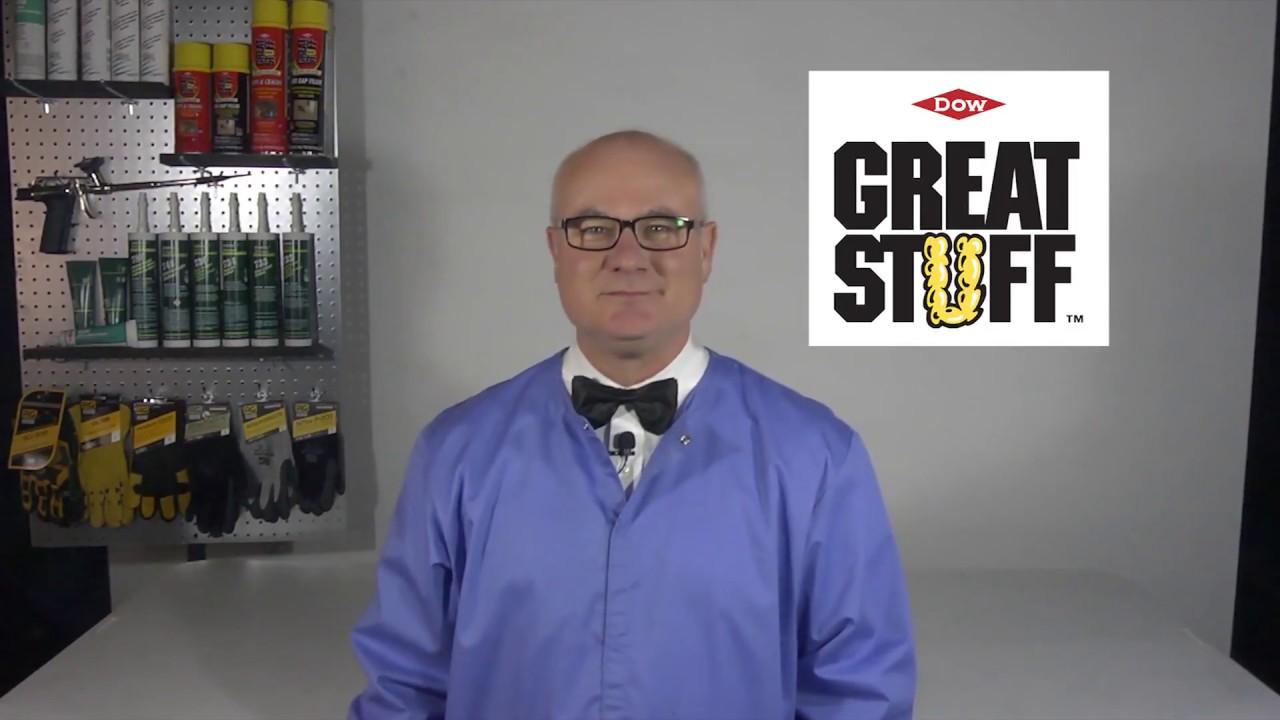 Lentus Lab Dow Great Stuff Fireblock Insulating Foam Video