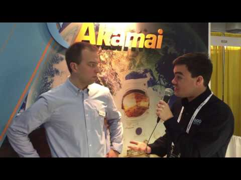 Akamai Live Streaming Service Interview - NAB New York