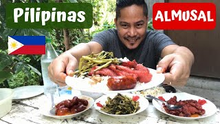 "PILIPINAS ALMUSAL!!! Pinoy Almusal ""BREAKFAST"" Filipino Food. MUKBANG!!!"