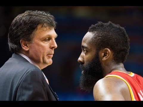 James Harden Texting Kevin Mchale