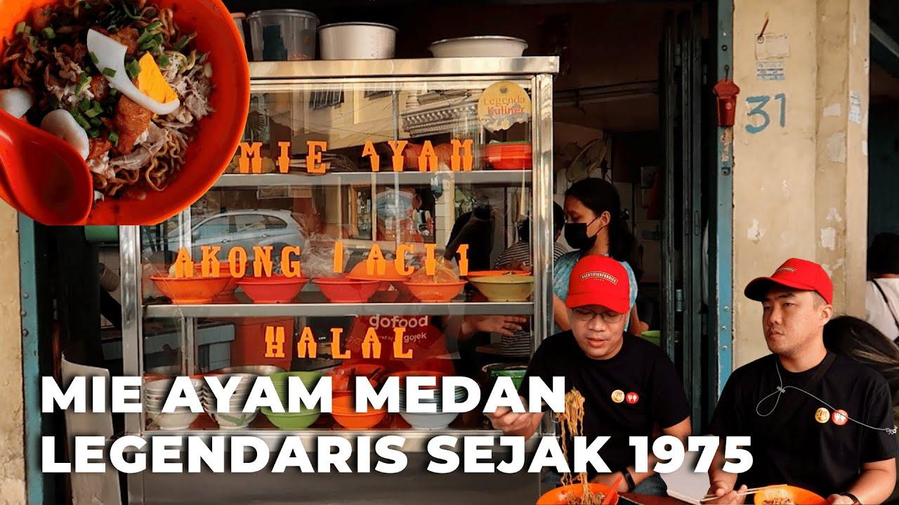 Mie Ayam Akong Acim - Mie Ayam Legend Halal ala Medan