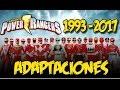Adaptaciones de Power Rangers 1993 - 2017 // Opinión de la Franquicia