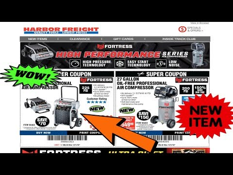 new-quiet-fortress-air-compressors||harbor-freight