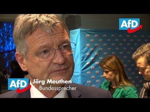 Jörg Meuthen Bleibt An Der AfD-Spitze