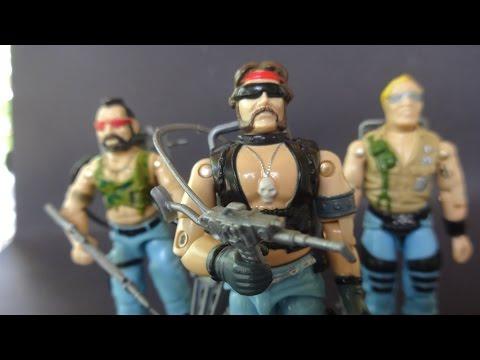 HCC788 -  1985 Dreadnok TORCH - G. I. Joe review - HD