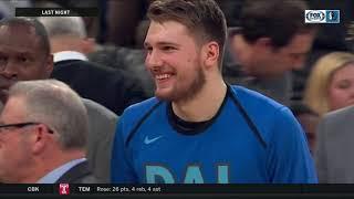 Luka Doncic reacts to Dallas Mavericks' trade with New York Knicks for Kristaps Porzingis