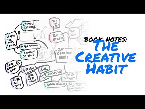 "Book notes on ""The Creative Habit"" (Twyla Tharp)"
