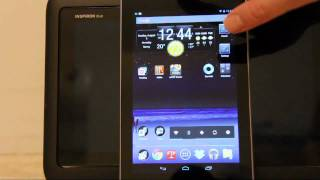 Google Asus Nexus 7 Review #1 - Unboxing and Jelly Bean Tips and Tricks