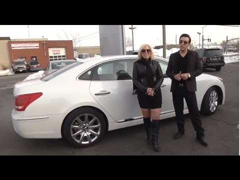 She s So Nice 2013 Equus Test Drive with Criss Castle and Adam Donovan at Stamford Hyundai