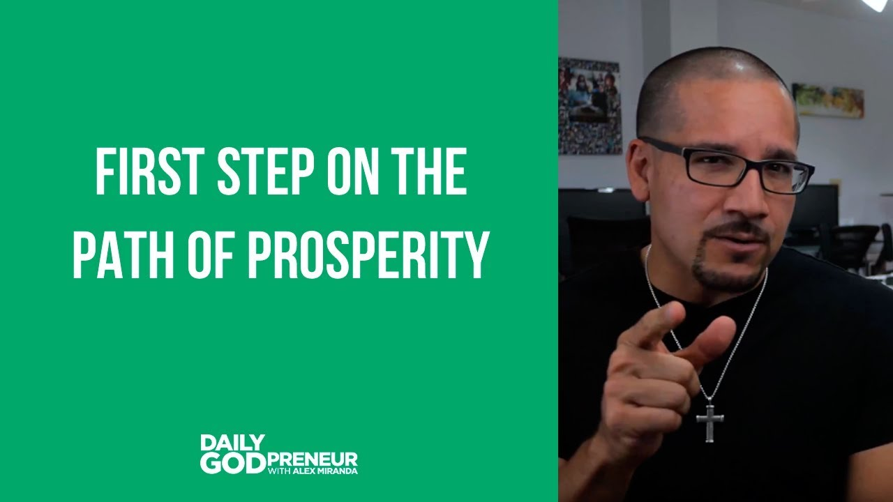 First Step on the Path of Prosperity