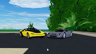 Roblox Ultimate Driving: Reviewing The Ferrari Sergio, Improved F50, And Mercedes Benz CLK GTR AMG!