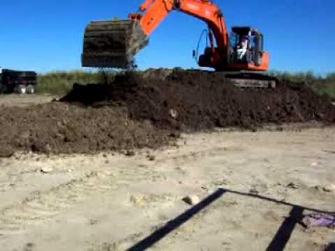 Excavator Simple Dirt Excavation